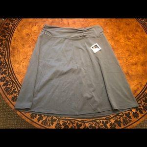Athleta Gray Athletic Skirt Size L
